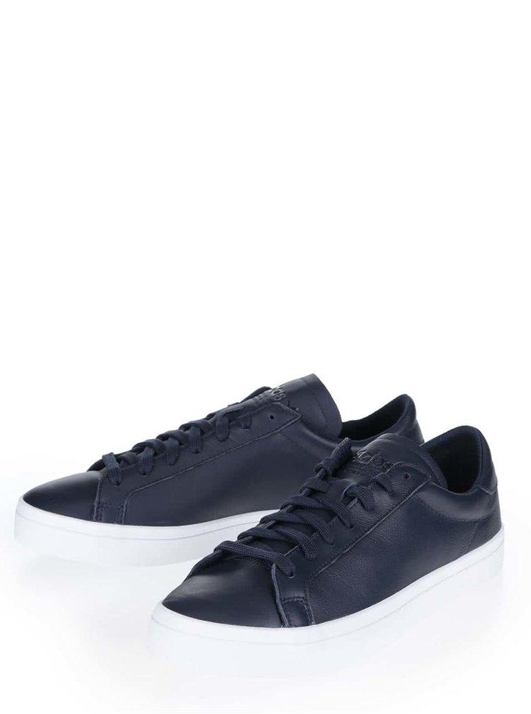 Pantofi sport albastru închis Adidas Originals Court Vantage