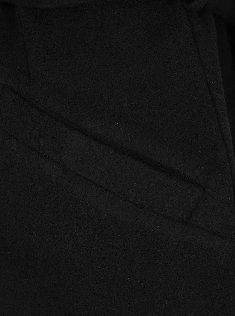 Čierna kabátová vesta s vreckami ONLY Dory