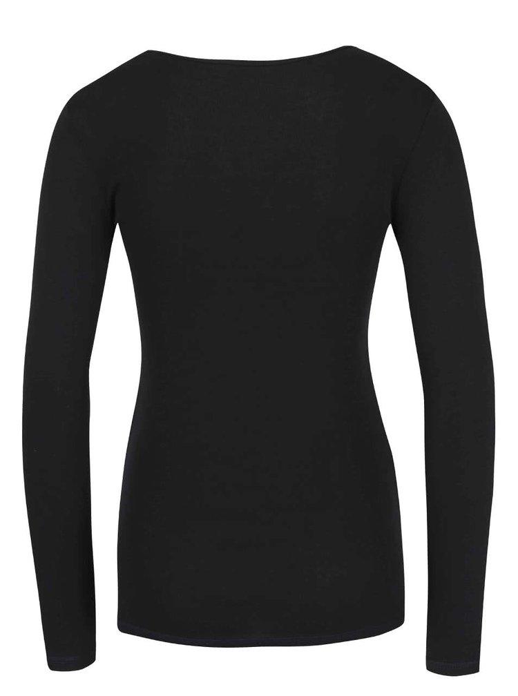 Bluză neagră Dorothy Perkins din bumbac