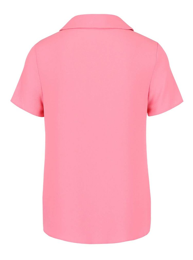 Bluza roz Dorothy Perkins cu guler Peter Pan