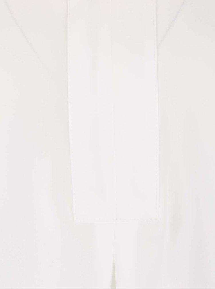 Krémová dlhšia blúzka bez rukávov Dorothy Perkins