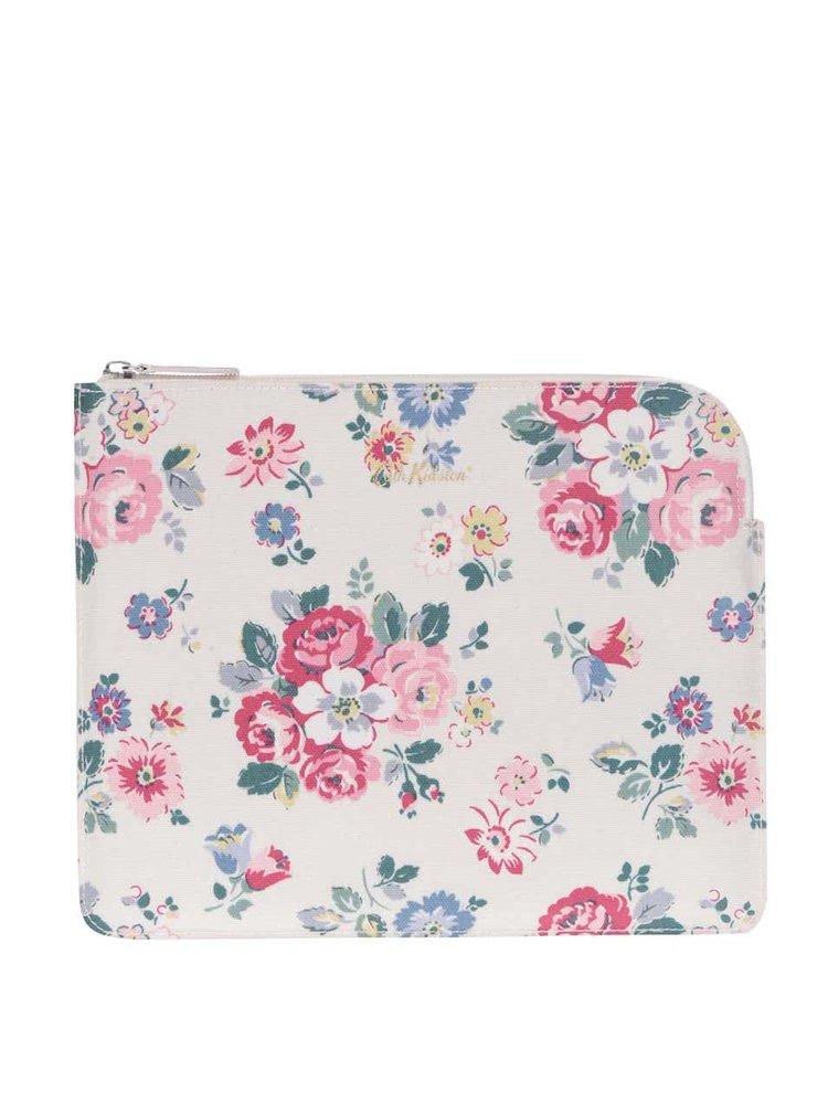Krémový květovaný obal na tablet Cath Kidston