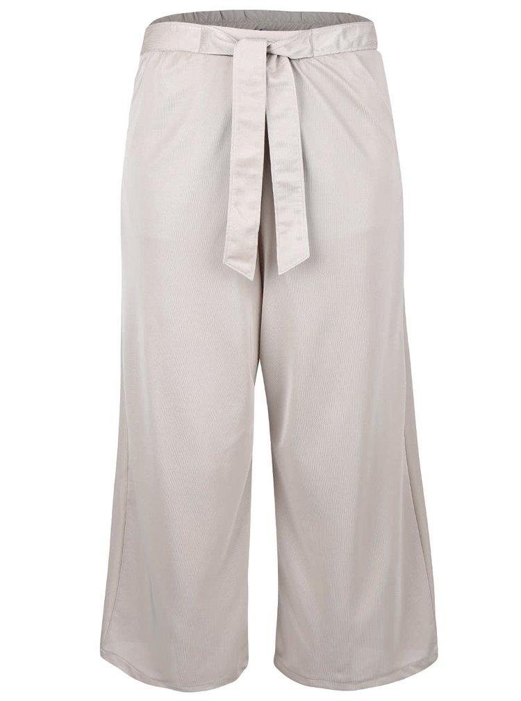 Pantaloni culottes crem Dorothy Perkins