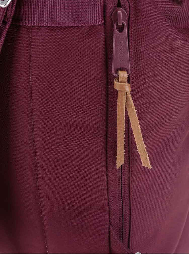 Vínový menší dámský batoh Herschel Reid 10,5 l