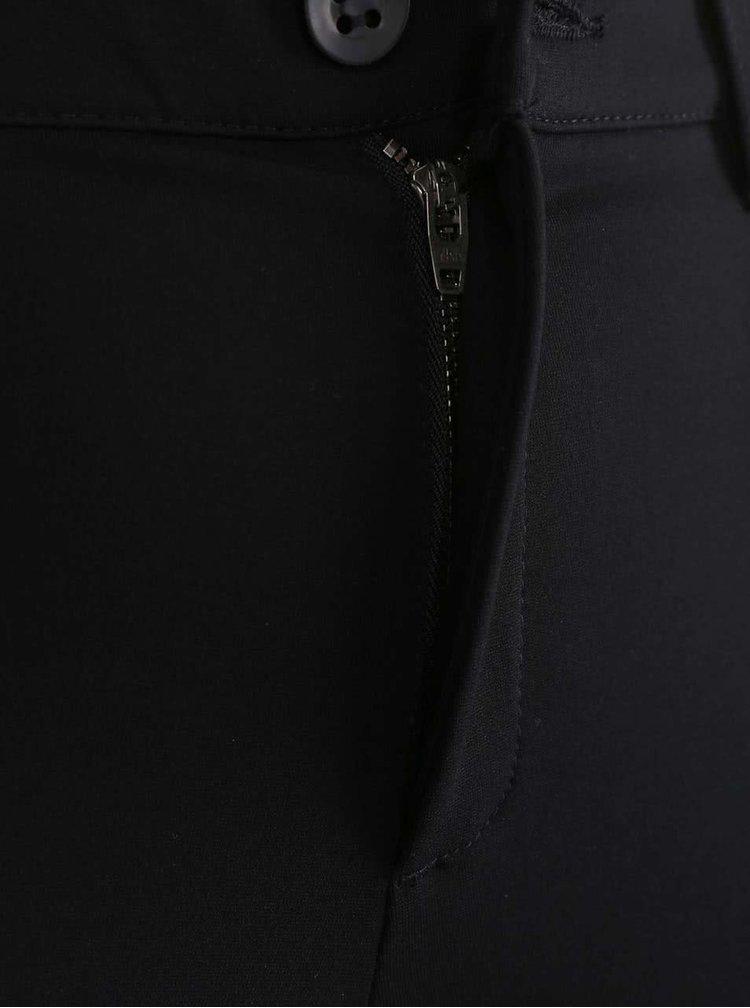 Čierne nohavice so štrukturovanými kolenami ONLY Evie