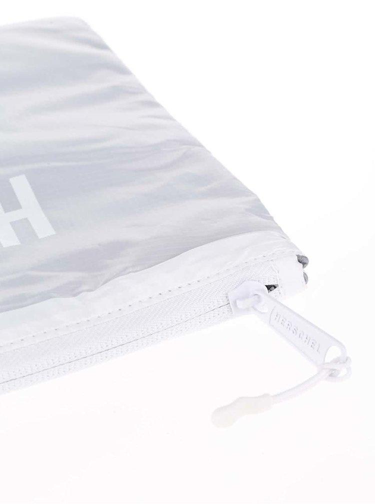 Husa gri pentru tableta Herschel Network XL cu fermoar