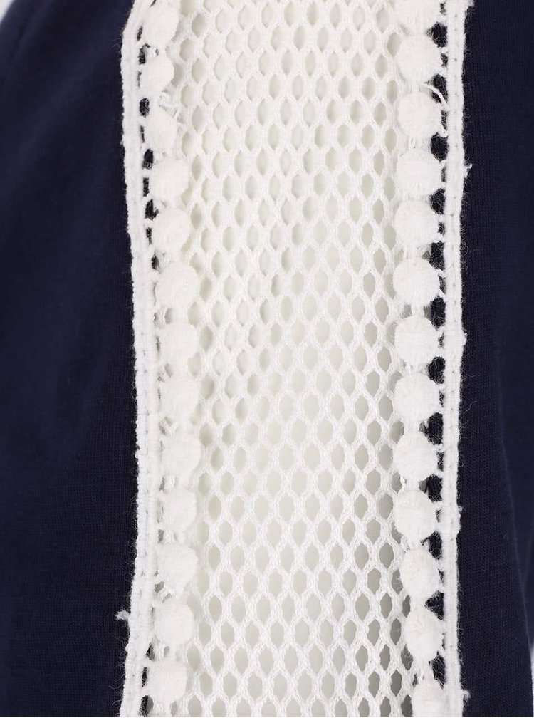 Rochie albastru inchis Dorothy Perkins cu aplicatii