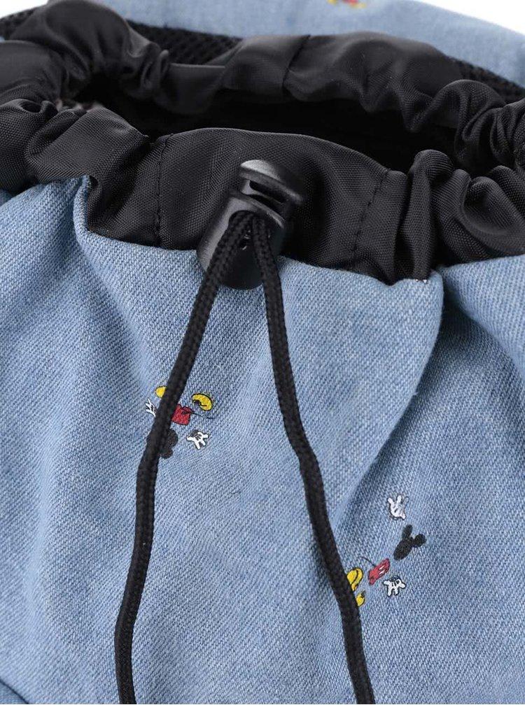 Rucsac albastru Herschel Dawson cu model Mickey Mouse pentru femei 13 l