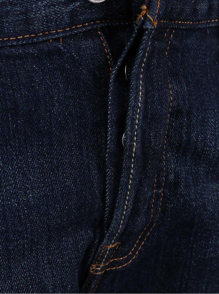 Tmavě modré dámské kratší džíny Levi's®