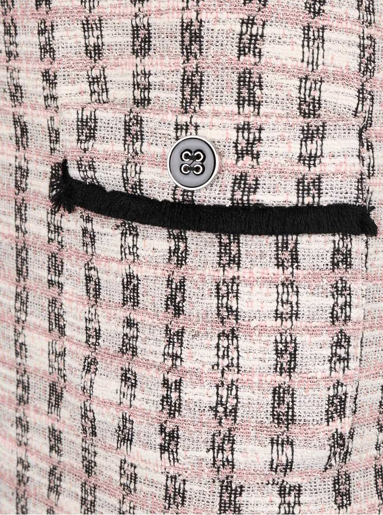 Sivo-ružové šaty s vreckami Dorothy Perkins