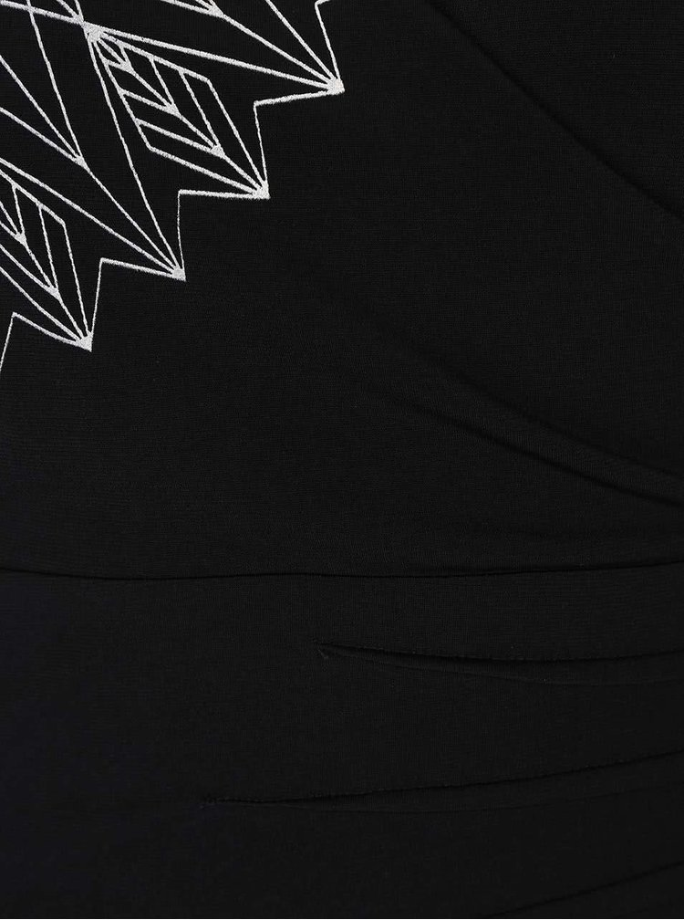 Rochie neagră Desigual Luisa