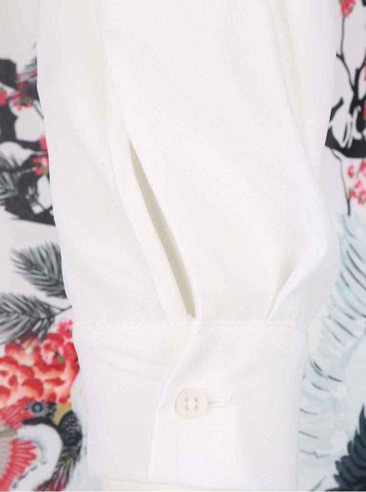 Cămașă tunică albă Desigual Eva
