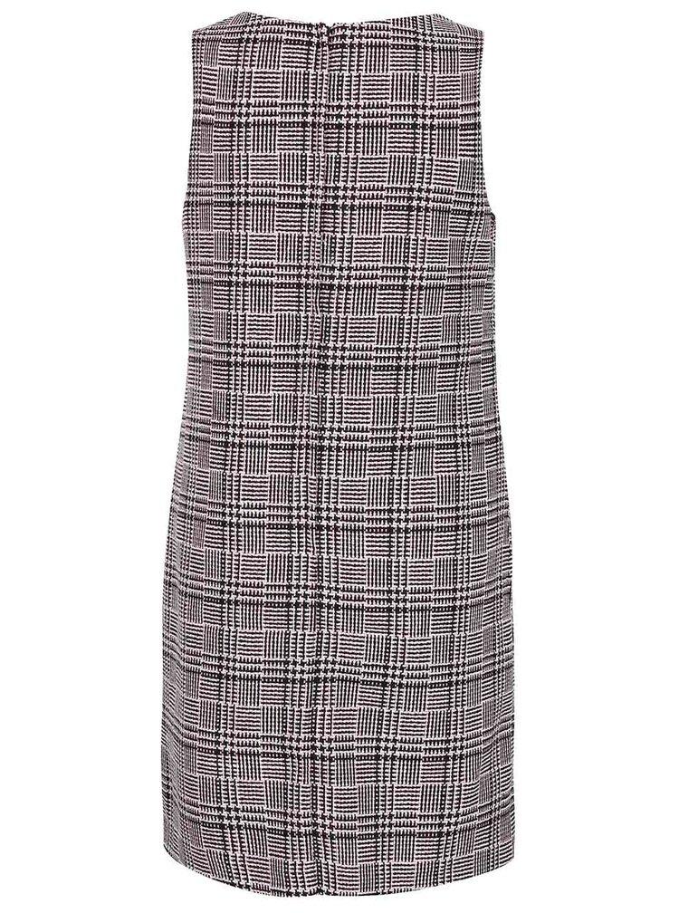 Čierno-ružové šaty s vreckami Dorothy Perkins