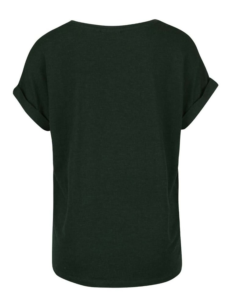 Tricou verde inchis oversize ONLY Moster
