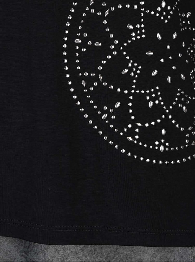Čierna blúzka Desigual Shannen