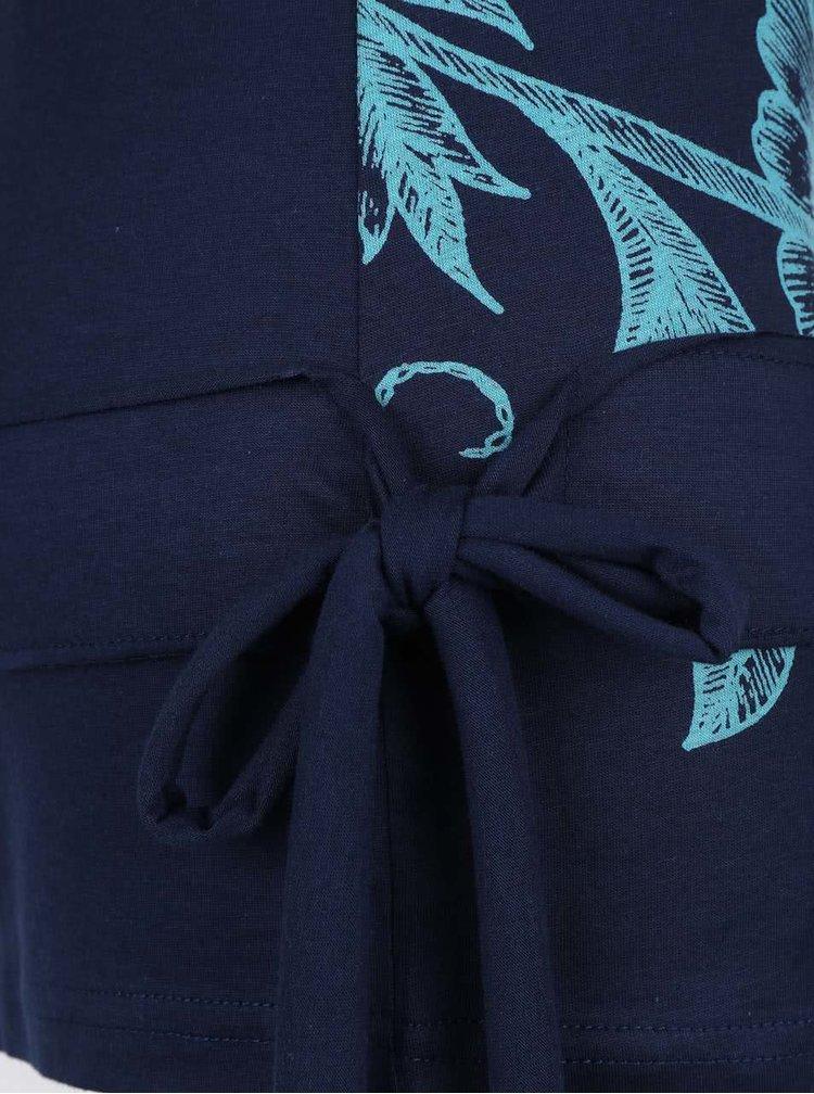 Bluza albastra Desigual  Calima