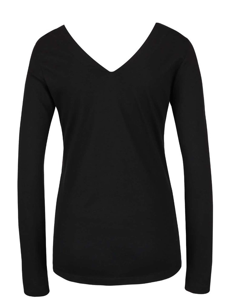Černo-modré tričko Desigual Menorca