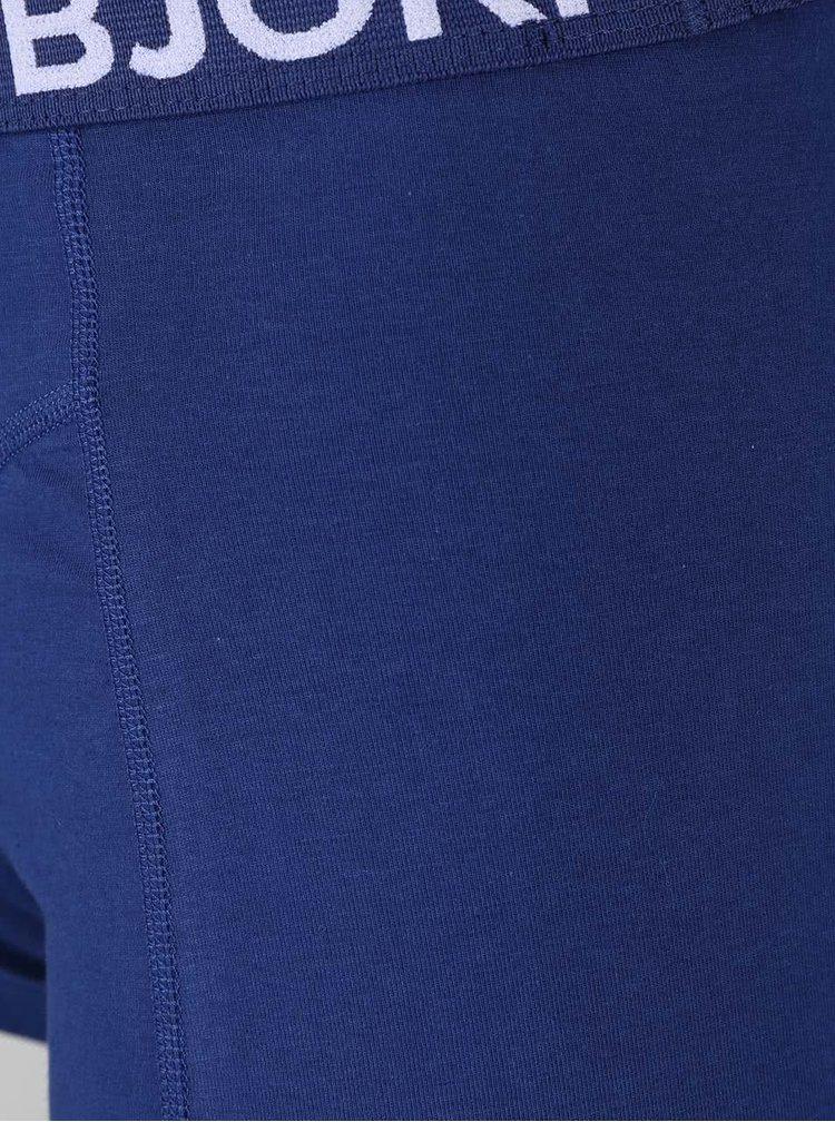 Set 2 perechi de boxeri Björn Borg negru/albastru