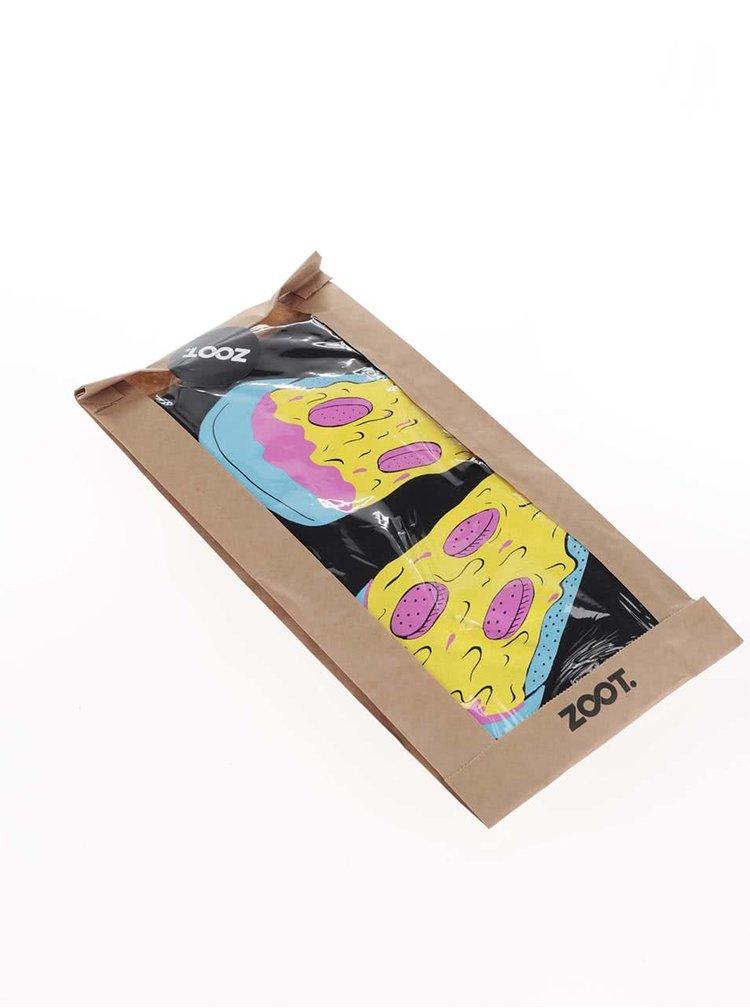 Čierne pánske tričko ZOOT Originál Pizza