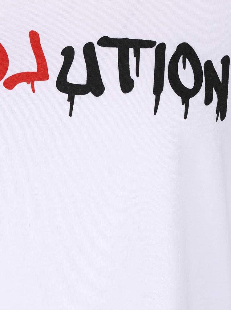 Bílé dámské oversize tričko ZOOT Originál Reloveution