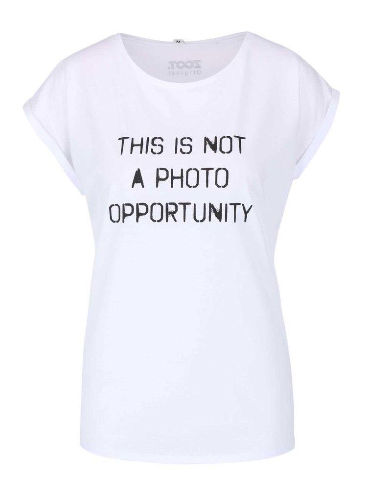 Bílé dámské tričko ZOOT Originál This Is Not