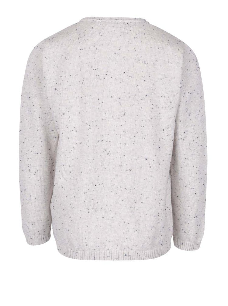 Krémový klučičí svetr s kapsou name it Sinis