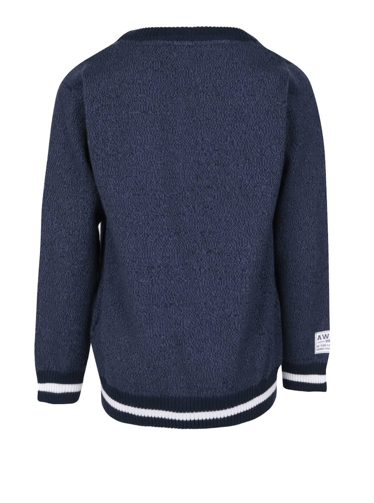 Modrý chlapčenský sveter name it Elix