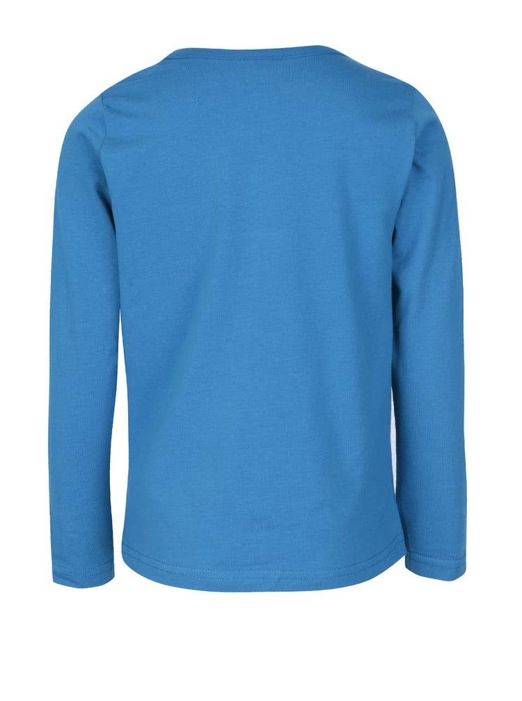 Bluză albastră name it Vix cu mâneci lungi pentru băieți