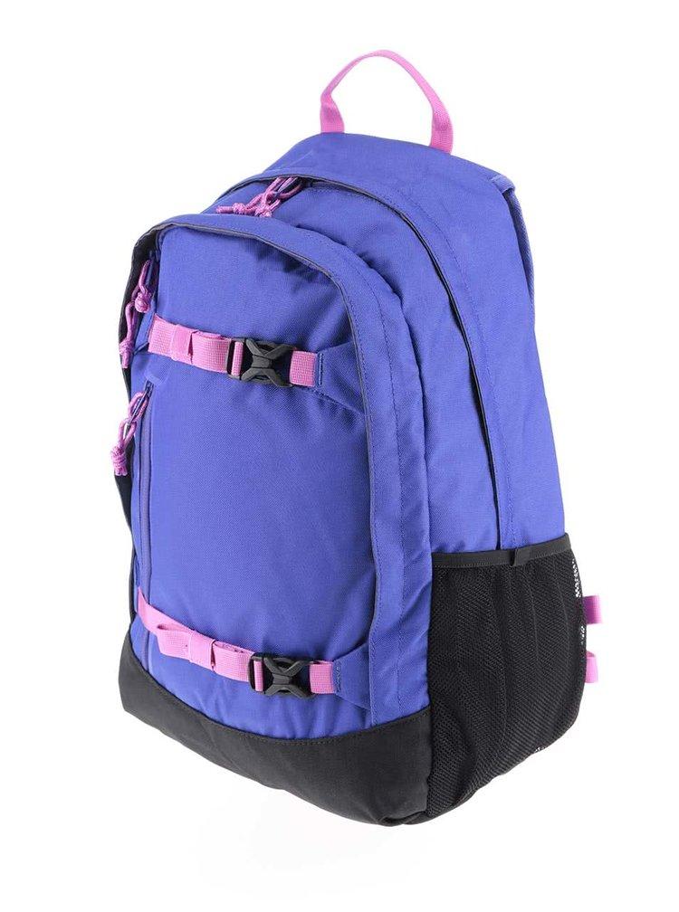 Černo-modrý dětský batoh s růžovými detaily Burton Hiker 20 l