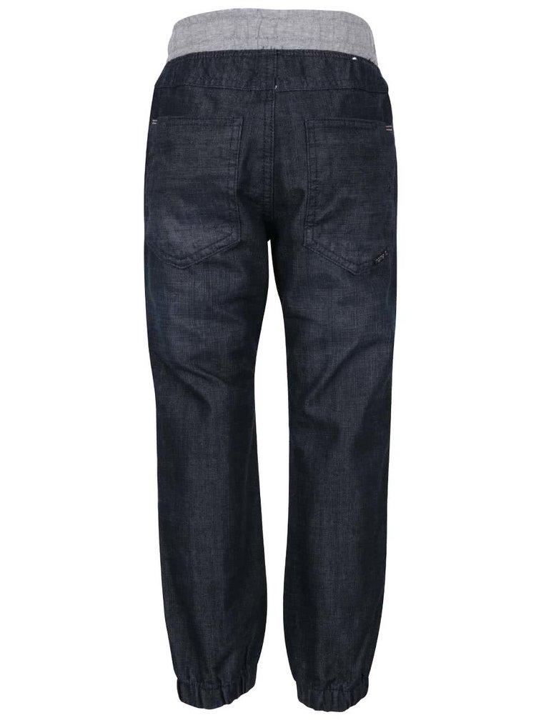 Modré klučičí džíny se stahováním v pase name it Dark
