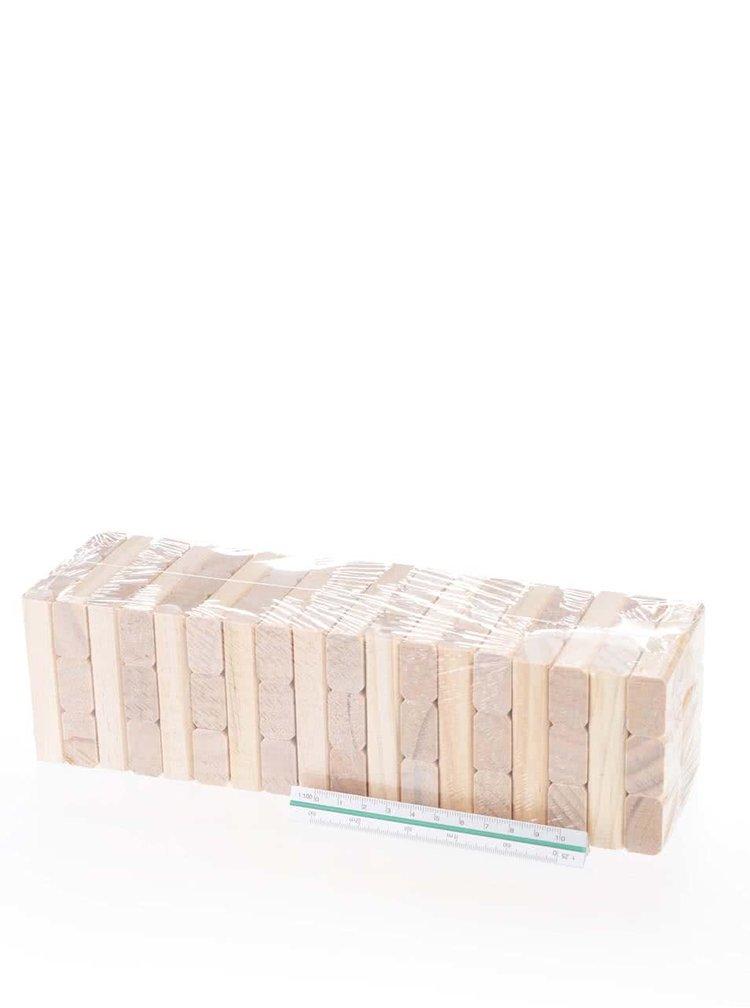 Piese din lemn pentru construit Jenga Ridley´s