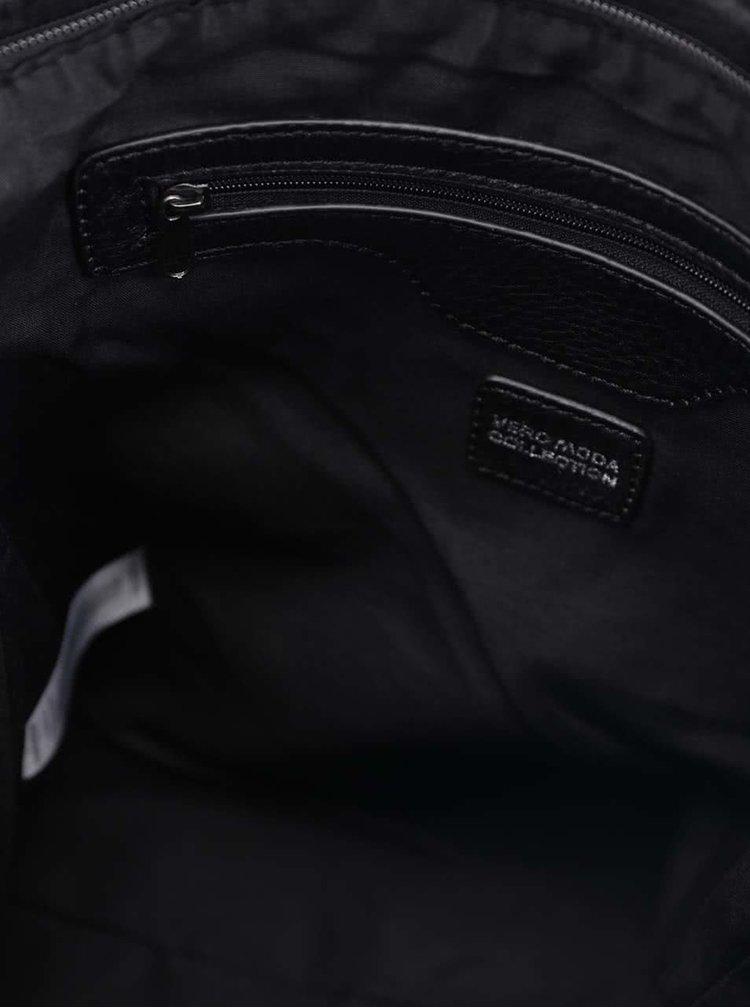 Černá crossbody kabelka s třásněmi VERO MODA Fringa