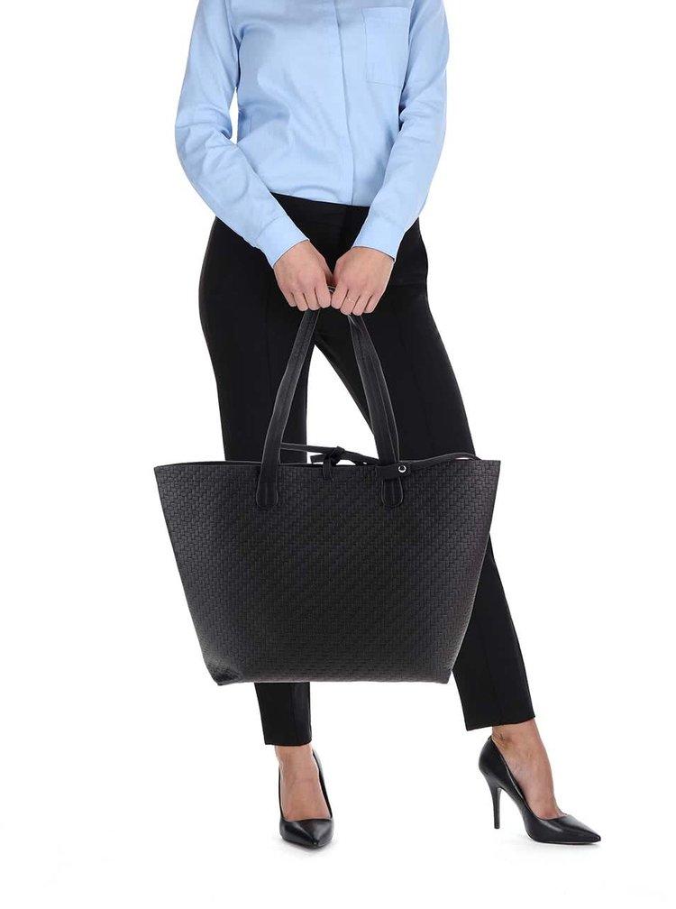 Čierny shopper VERO MODA Tulle