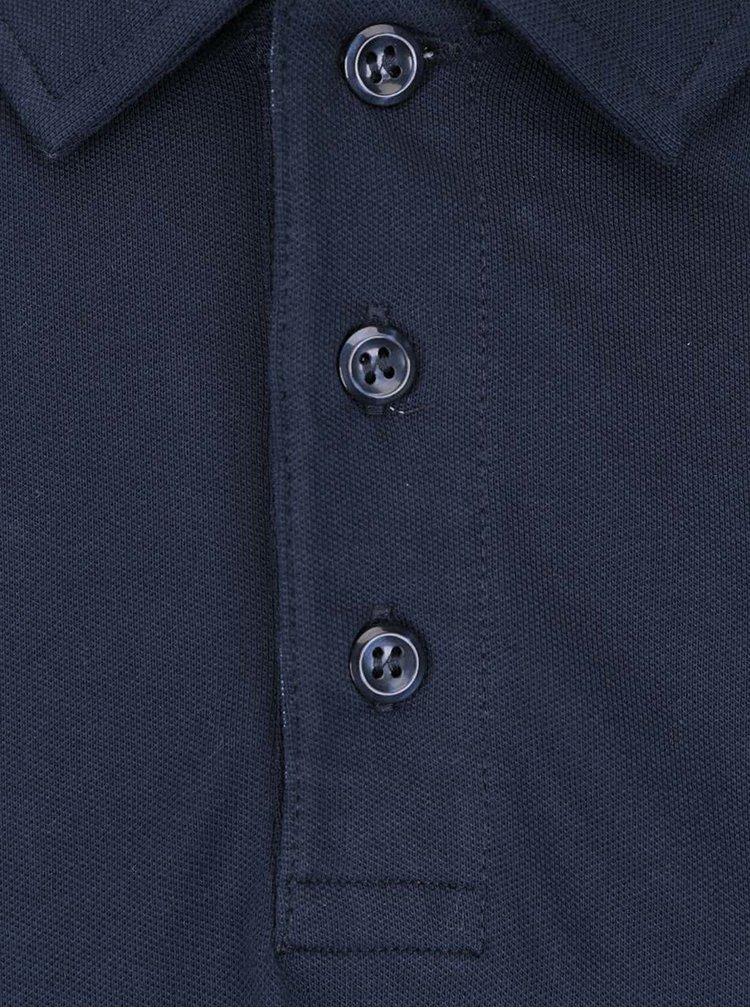 Tricou polo bleumarin Jack & Jones Foster