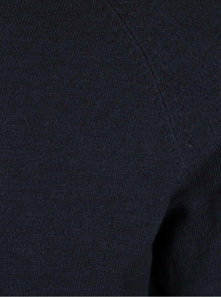 Tmavě modrý lehký svetr Jack & Jones Lake