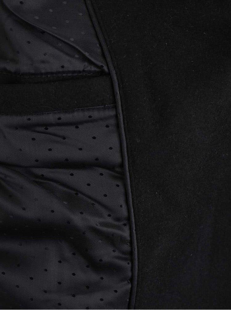 Černý kabát s páskem VILA Director