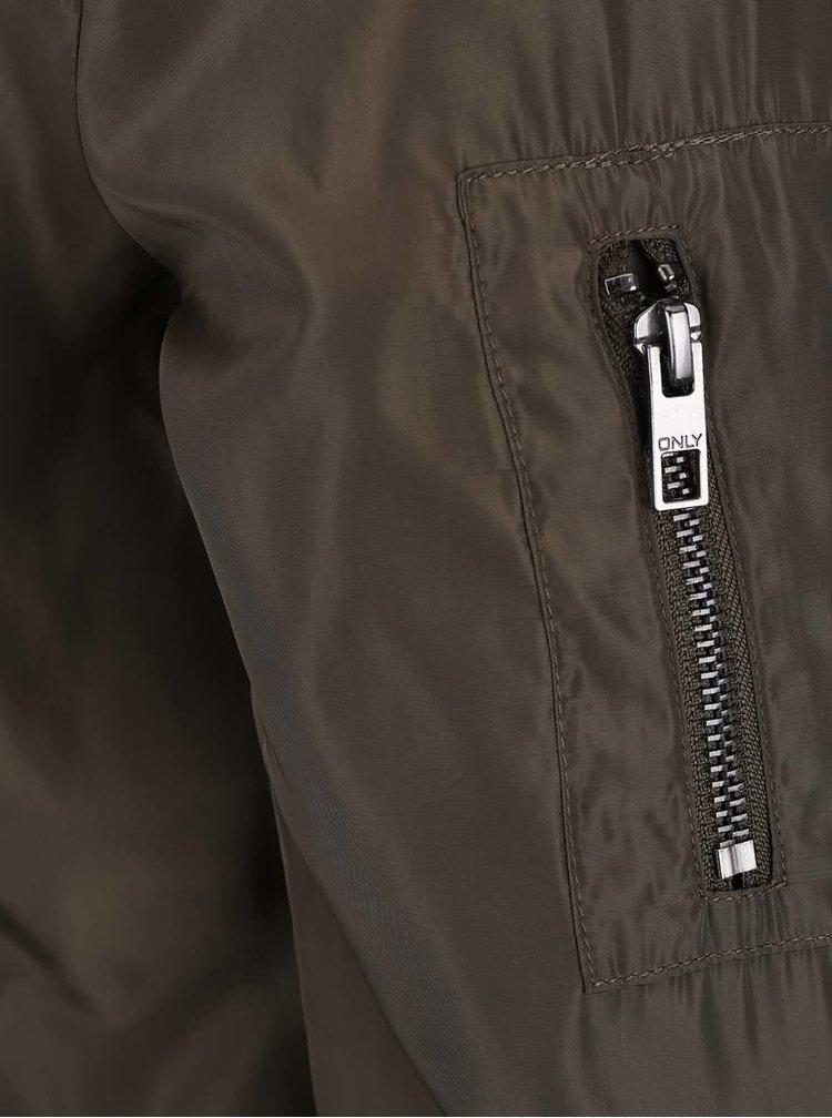 Jachetă bomber ONLY Linea kaki