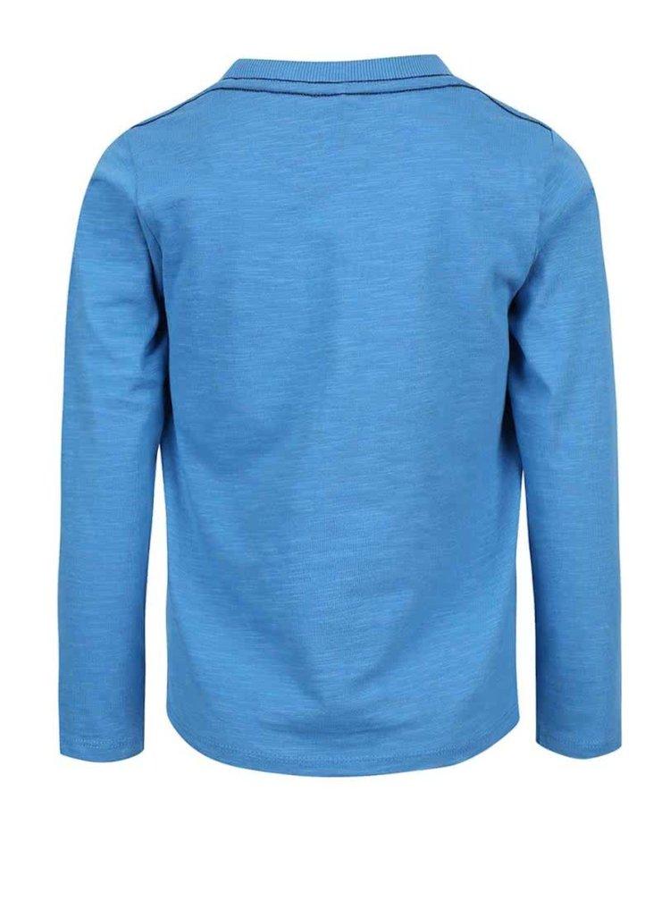 Modré klučičí tričko s potiskem name it Land