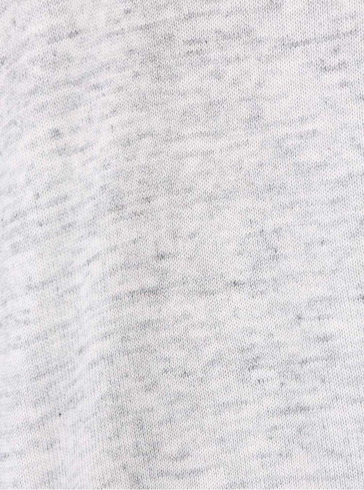 Světle šedý žíhaný cardigan VILA Lesly