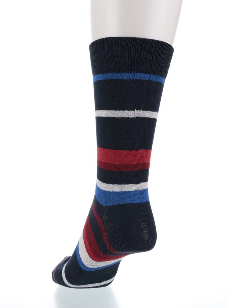 Șosete multicolore Jack & Jones Belair II. cu dungi