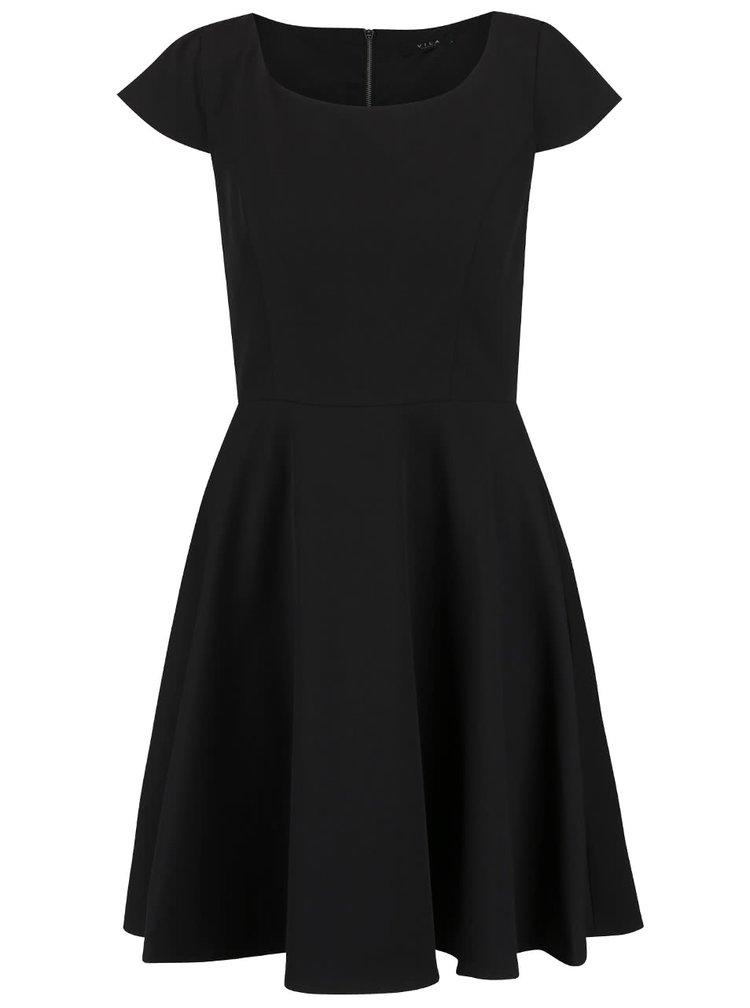 Rochie neagră VILA Sonni