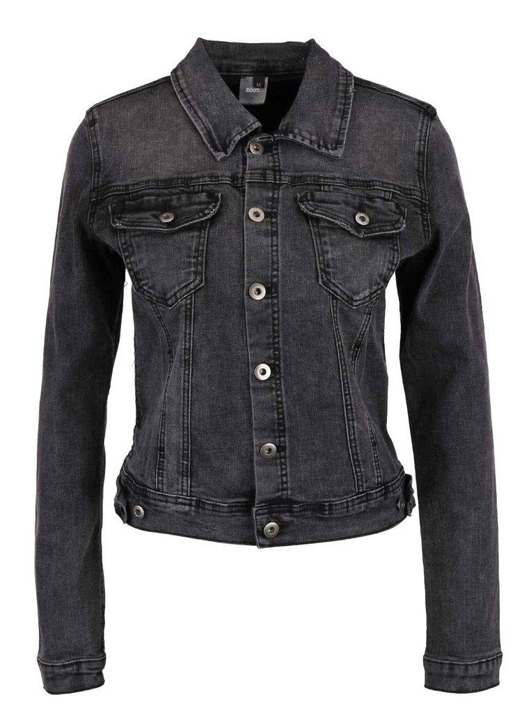 Jachetă gri închis ZOOT Now din denim