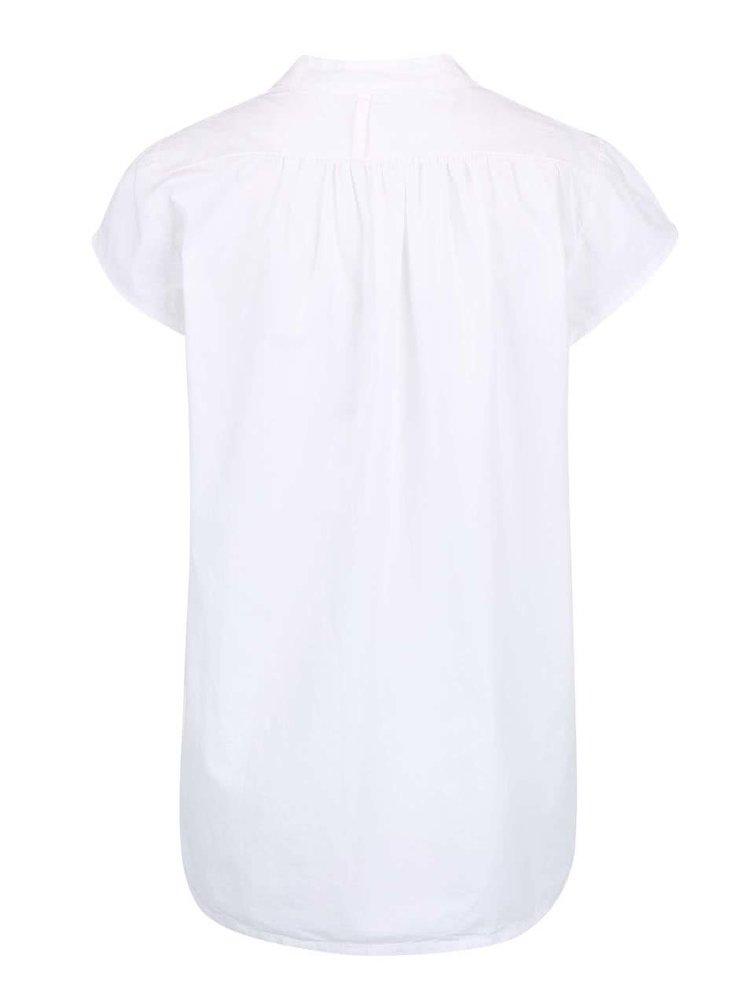 Bluză albă ZOOT Simple din bumbac