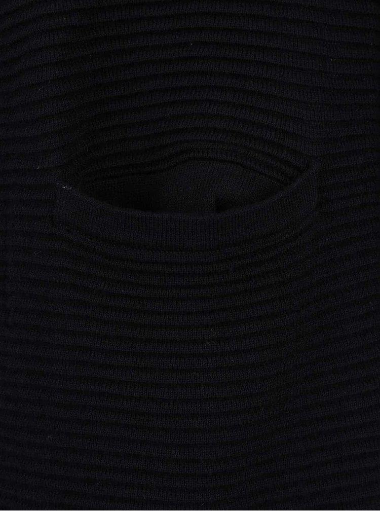Černý dámský dlouhý cardigan Broadway Ongela
