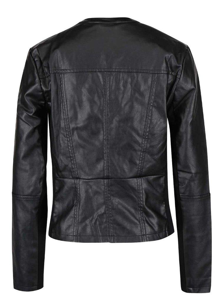 Černá dámská koženková bunda Broadway Dacia