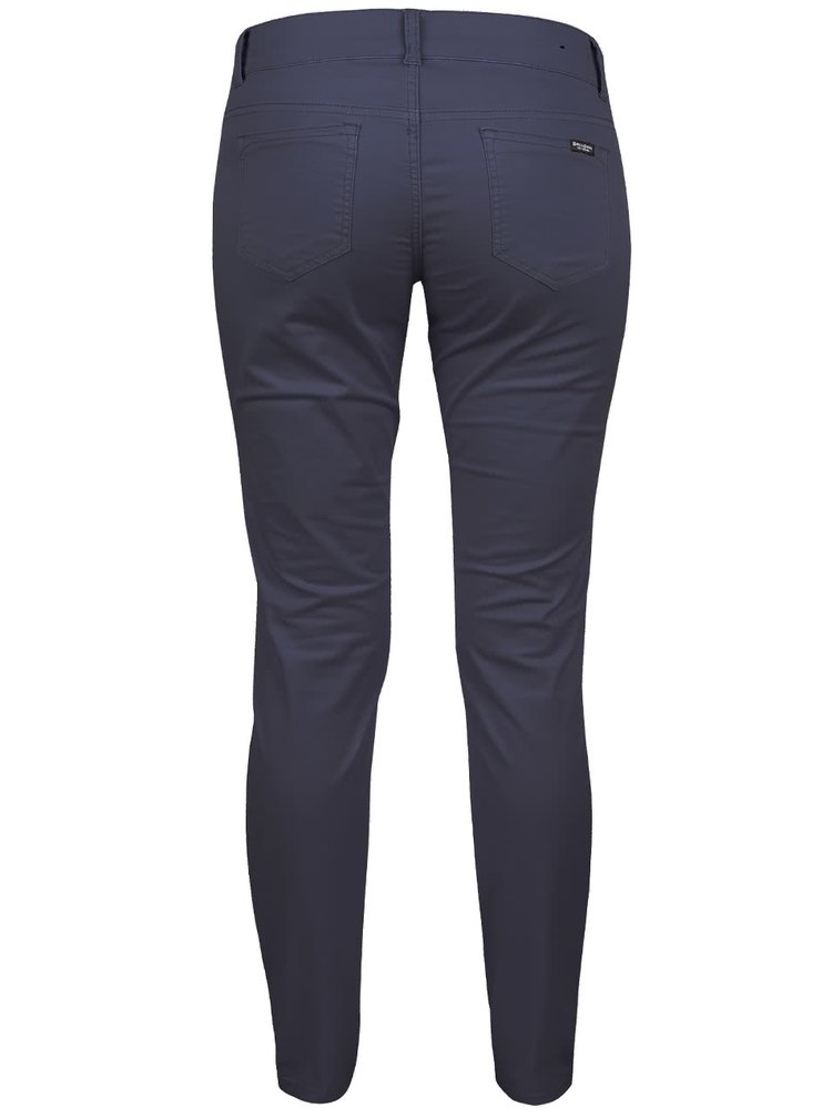 Tmavě modré dámské skinny kalhoty Broadway Jane
