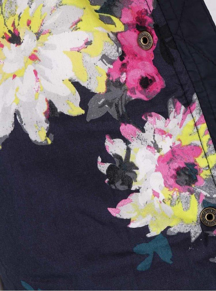 Tmavomodrá dámska prešívaná bunda Tom Joule Newdale