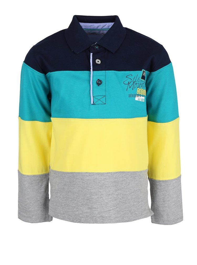 Bluză polo în dungi Boboli pentru băieți