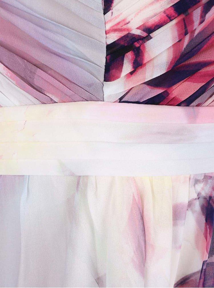 Farebné kvetované šaty Dorothy Perkins Curve