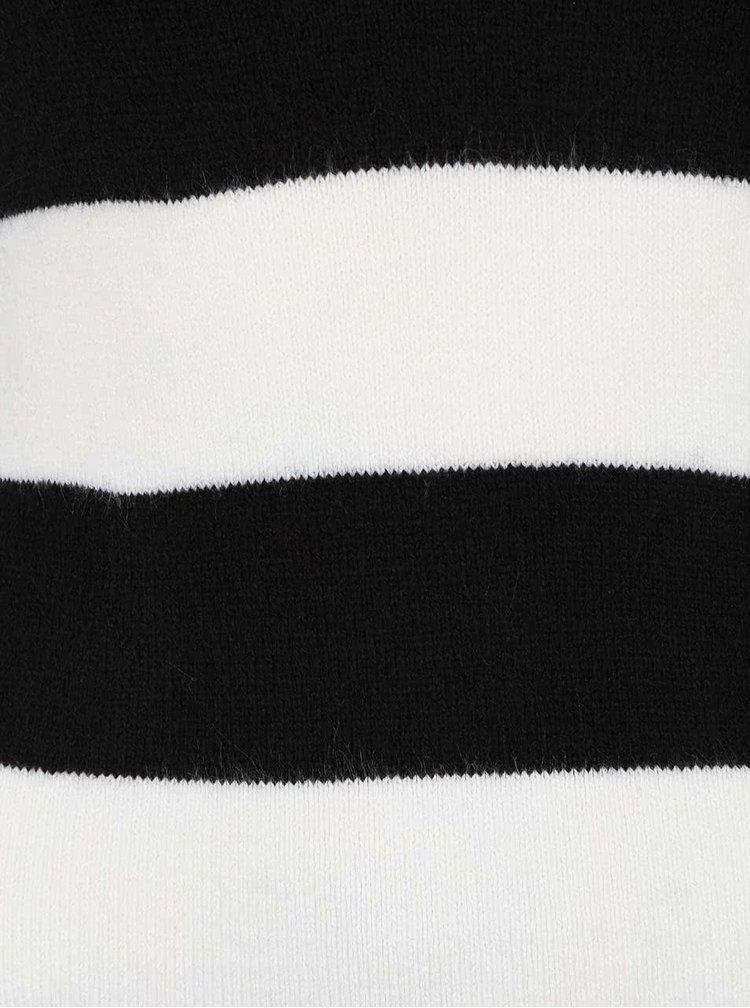 Rochie în dungi TALLY WEiJL alb cu negru